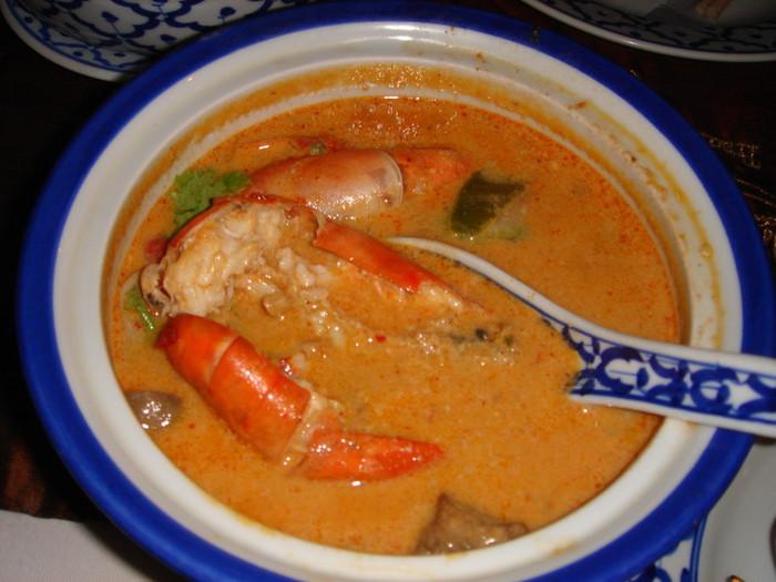 世界三大スープのひとつトムヤムクン