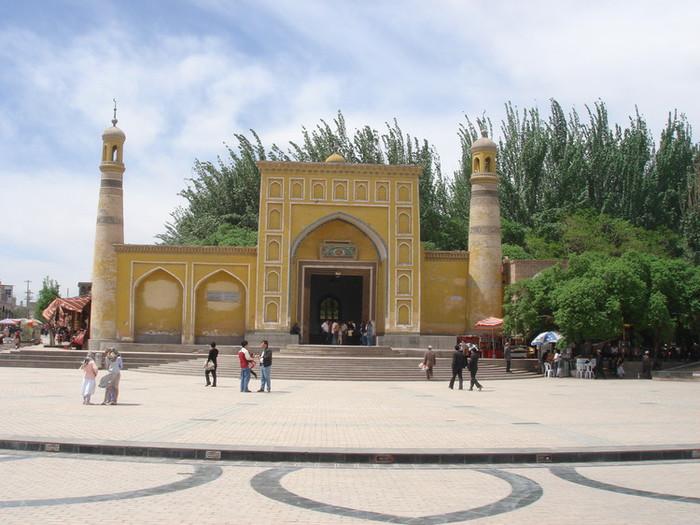 カシュガルのイスラム建築