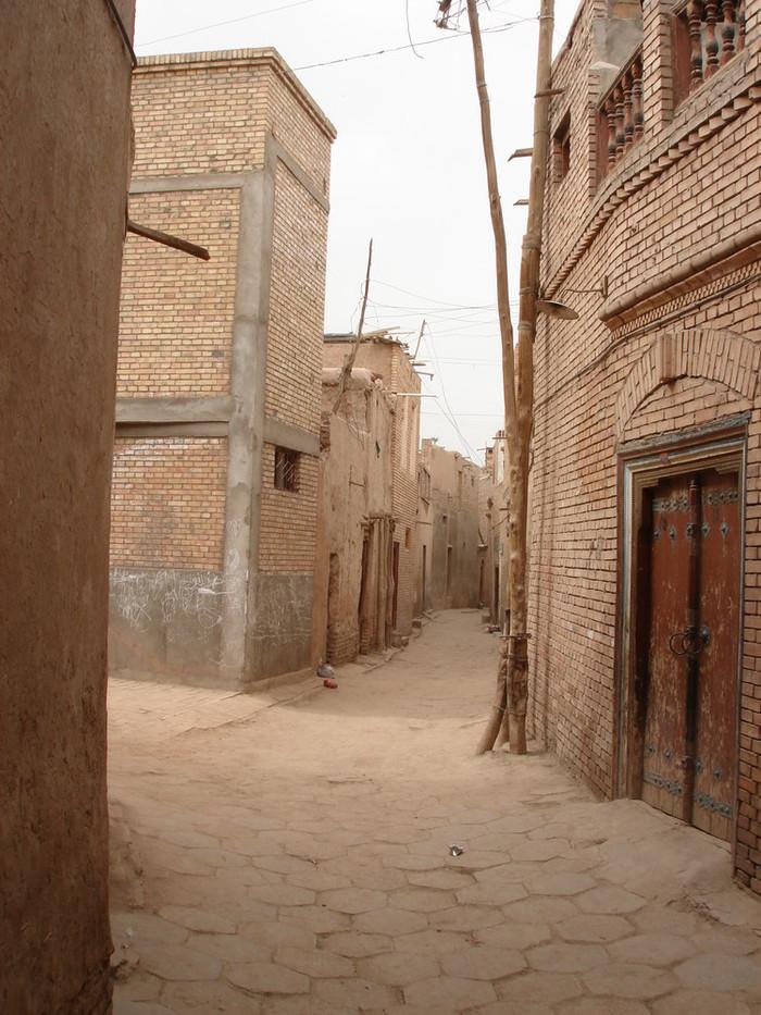 カシュガルの旧市街
