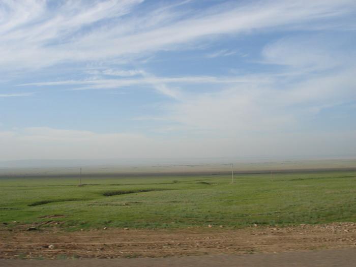 カザフスタンの草原