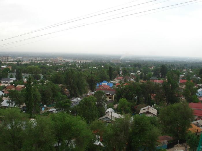 カザフスタンの旧首都アルマトゥ