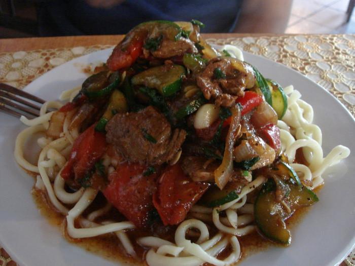 ラグマン(羊の肉麺)
