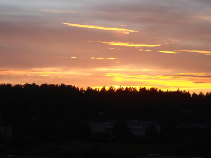 ツェースイスの夕日