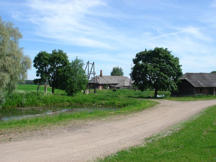 ツェースイスの近郊田舎町
