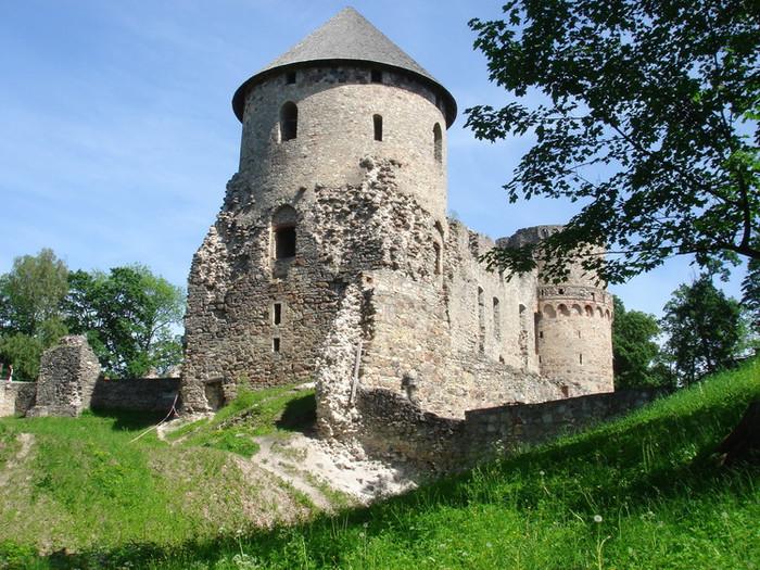 ツェースイスにあるお城