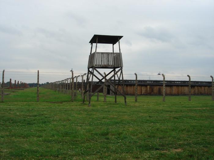 アウシュビッツの監視所
