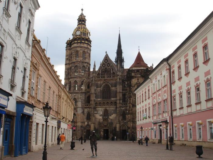 スロヴァキア第2の都市コシチェ