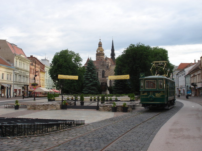 スロヴァキアのコシチェの様子