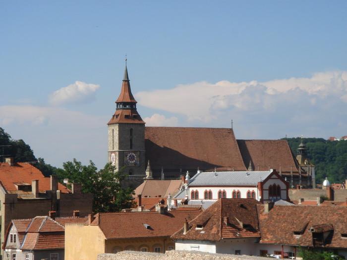 ブラショフの中心街