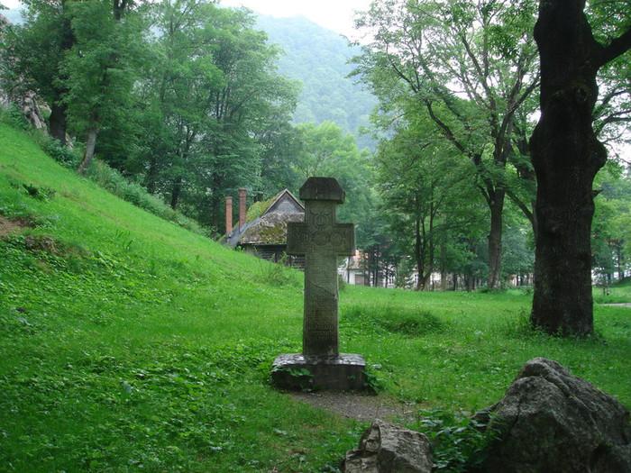 吸血鬼ドラキュラの居城のモデルとなったブラン城にある十字架