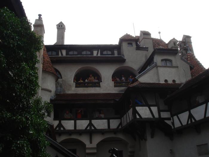 ブラン城の中
