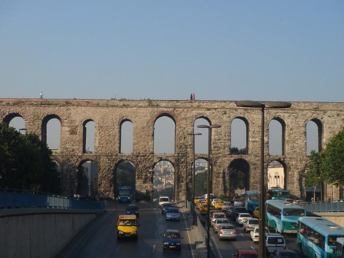 イスタンブールの水道橋