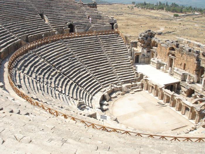古代ローマ遺跡ヒエラポリス