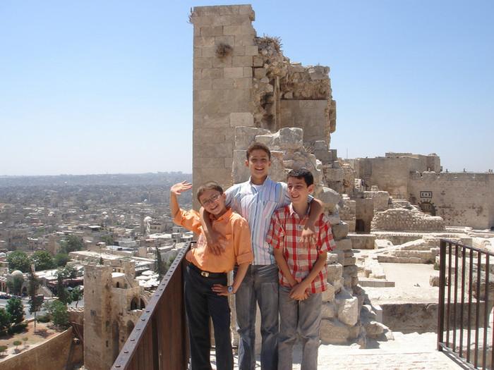 非常に陽気なシリア人