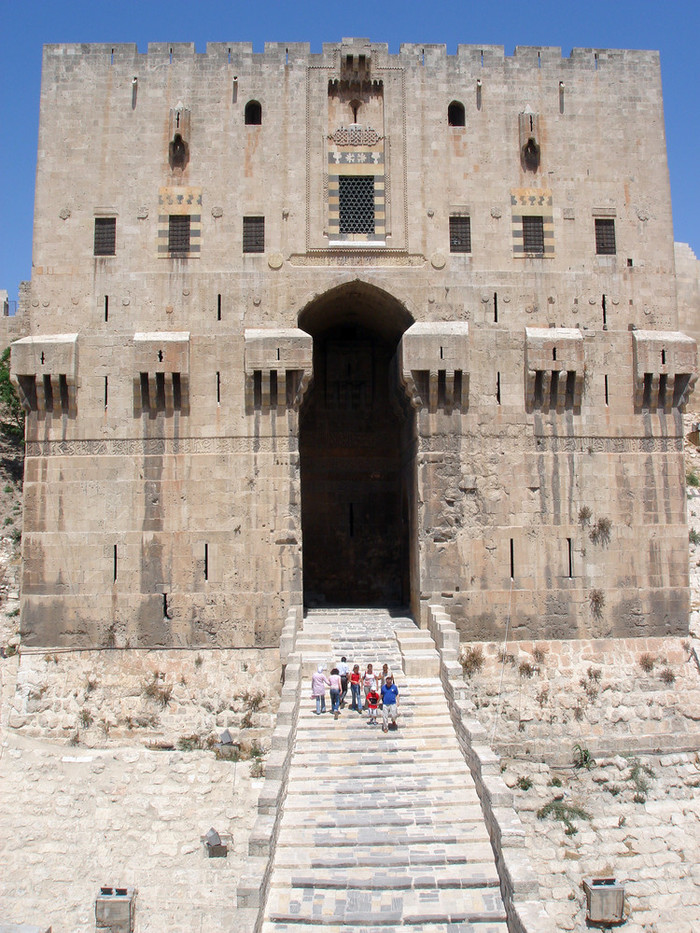 アレッポ城の大きな門