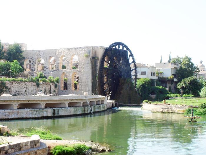 シリアのハマ水車