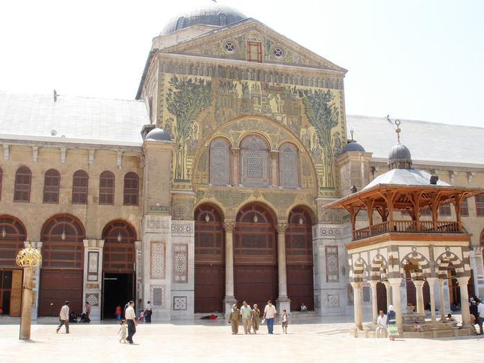 世界最古のモスクであるウマイヤド・モスク