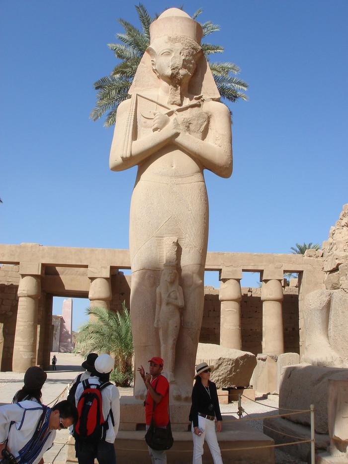 カルナック神殿の像