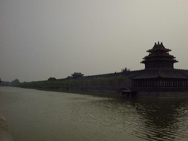 故宮 城壁