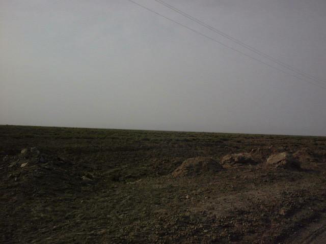 アイディン湖までの道