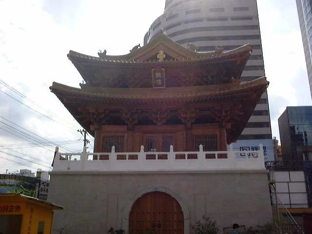 上海の静安寺