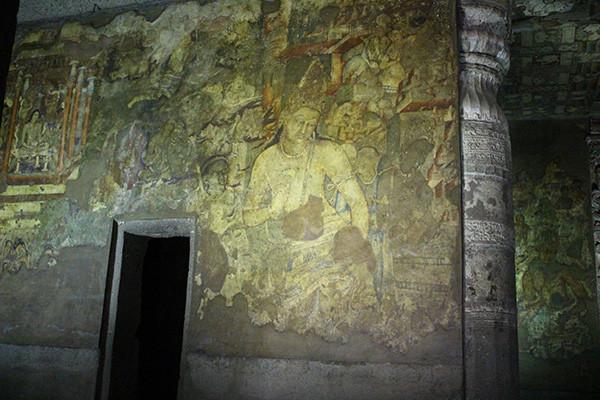 アジャンター石窟群の壁画